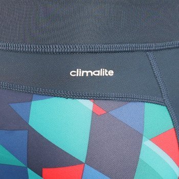 spodnie sportowe damskie ADIDAS AIS TECHFIT LONG TIGHT TRIAX PRINT / AJ0536