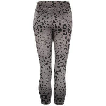 spodnie sportowe damskie ADIDAS ULTIMATE FIT PANT 3/4 TIGHT ALL OVER PRINTED / M68790