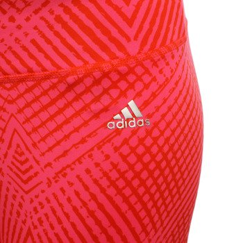 spodnie sportowe damskie ADIDAS ULTIMATE FIT PANT TIGHT ALL OVER PRINTED / M68792