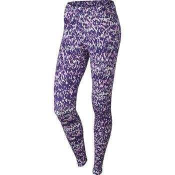 spodnie sportowe damskie NIKE CLUB ALLOVER PRINT / 629180-547