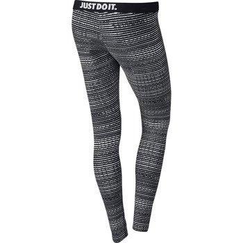 spodnie sportowe damskie NIKE LEG-A-SEE ALLOVER PRINT / 629208-010