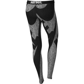 spodnie sportowe damskie NIKE LEG-A-SEE ALLOVER PRINTED / 726091-010