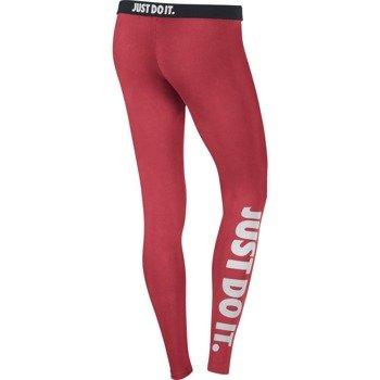 spodnie sportowe damskie NIKE LEG A SEE JUST DO IT / 586395-647