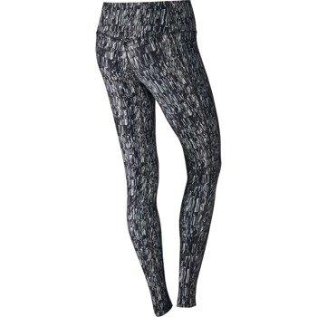 spodnie sportowe damskie NIKE POWER TRAINING  TIGHT POLY SCREEN FUZZ / 802907-012
