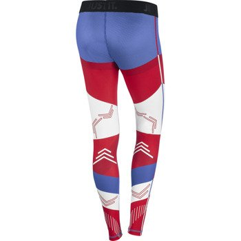spodnie sportowe damskie NIKE PRO USA TIGHT / 649636-657