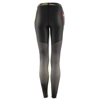 spodnie sportowe damskie REEBOK CROSSFIT COMPRESSION TIGHT ALLOVER PRINTED / AP9189