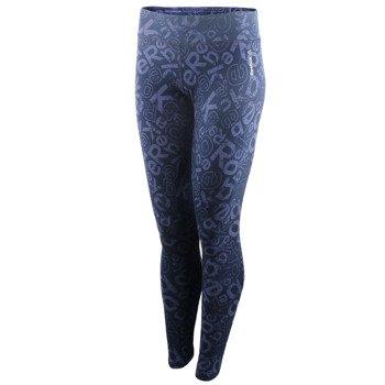 spodnie sportowe damskie REEBOK ELEMENTS ALLOVER PRINTED LEGGING / AJ3145