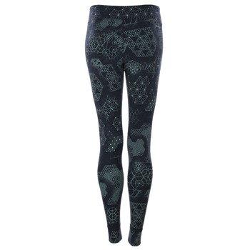 spodnie sportowe damskie REEBOK ONE SERIES TATTOO LEGGING / B83523