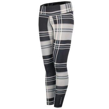 spodnie sportowe damskie REEBOK YOGA PLAID LEGGING / AA1602