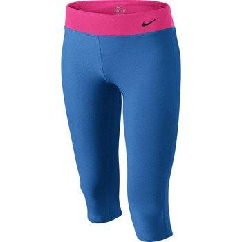 spodnie sportowe dziewczęce NIKE YOUNG ATHLETES LEGEND TIGHT CAPRI / 522087-439