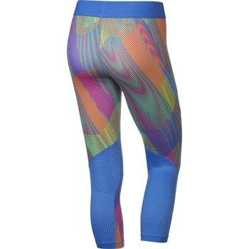 spodnie termoaktywne damskie 3/4 NIKE PRO HYPERCOOL FREQUENCY CAPRI / 725475-435