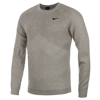 sweter tenisowy męski NIKE LONG SLEEVE SWEATER / 596595-050