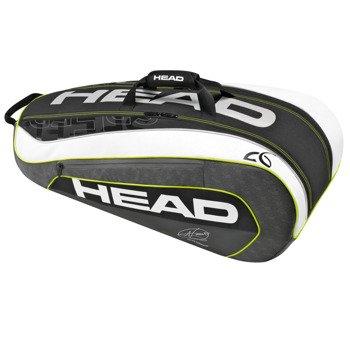 torba tenisowa HEAD DJOKOVIC 9R SUPERCOMBI / 283086 BKWH