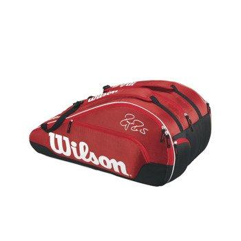 torba tenisowa WILSON FEDERER TEAM III 12 PACK / WRZ833612