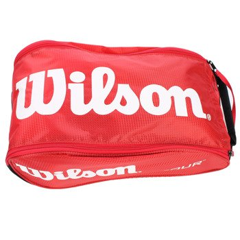 torba tenisowa na buty WILSON TOUR SHOE BAG II RED / WRZ843387