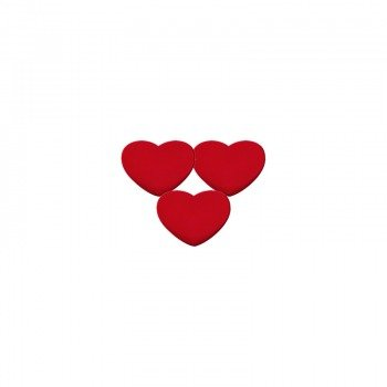 wibrastop PRO'S PRO VIBRA HEART x 3 RED