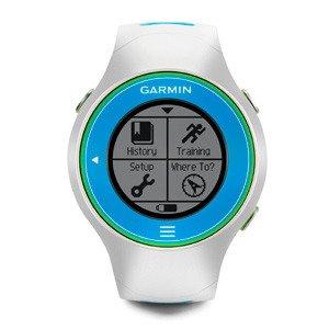 zegarek sportowy GARMIN FORERUNNER 610 HR white/blue